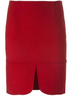 юбка с разрезом DKNY