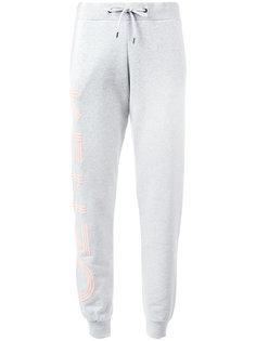 спортивные брюки с аппликацией логотипа Kenzo