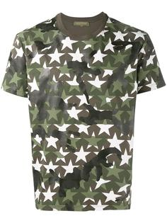 футболка с принтом звезд Valentino