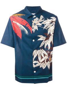 рубашка с цветочным принтом Valentino