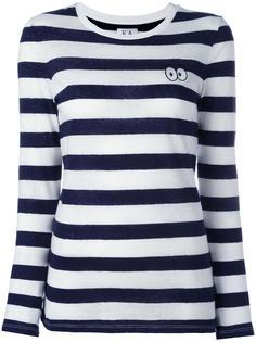 футболка с длинными рукавами в полоску Zoe Karssen
