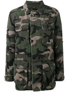 камуфляжная куртка Valentino