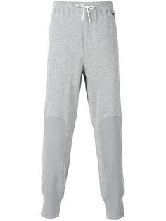 спортивные штаны с контрастными вставками Y-3