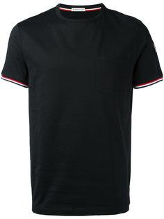 классическая футболка с короткими рукавами Moncler