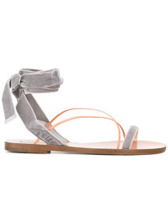 сандалии с завязкой на щиколотке Valentino Garavani Valentino