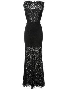 длинное платье с кружевной отделкой Rachel Zoe