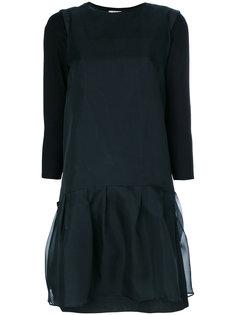 многослойное платье  S Max Mara