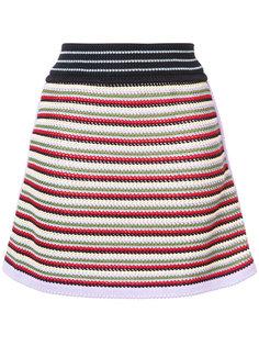 юбка в полоску Alexa Chung