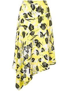 асимметричная юбка миди Derek Lam 10 Crosby