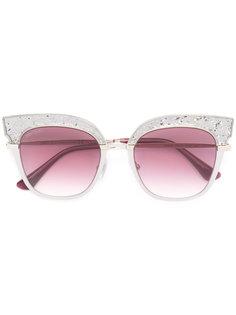"солнцезащитные очки-""кошачий глаз"" Jimmy Choo Eyewear"