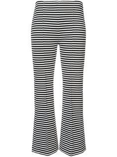 укороченные брюки в полоску Sonia Rykiel
