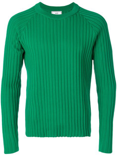 вязаный свитер в рубчик Ami Alexandre Mattiussi