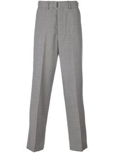 брюки с ремнем и стрелками Ami Alexandre Mattiussi