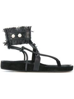 сандалии с бахромой Isabel Marant