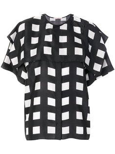 блузка-кейп Hill House Christopher Kane