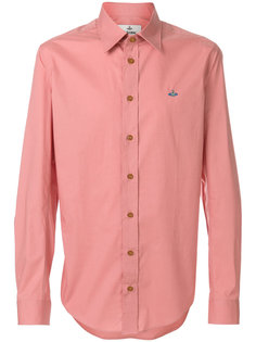 рубашка с вышитым логотипом  Vivienne Westwood