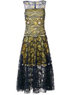 кружевное платье  Talbot Runhof