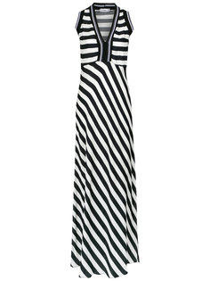 striped maxi dress Amir Slama