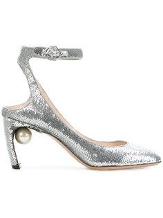 туфли-лодочки Lola с жемчугом Nicholas Kirkwood