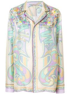 пижамная рубашка с орнаментом Emilio Pucci