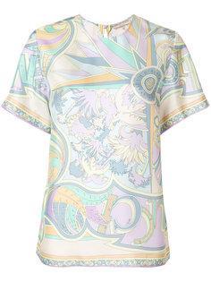 блузка с орнаментом Emilio Pucci