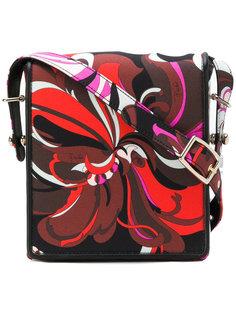 сумка через плечо с графическим принтом  Emilio Pucci