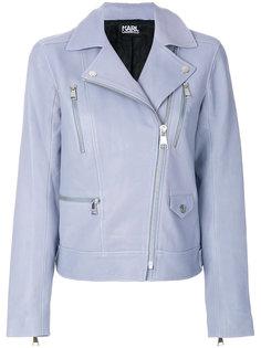 байкерская куртка Ikonik Odina Karl Lagerfeld