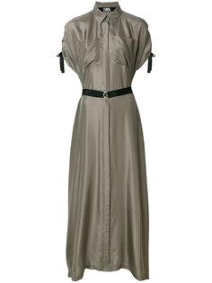 платье-рубашка макси Karl Lagerfeld