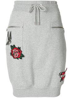 юбка с аппликацией Karl Lagerfeld
