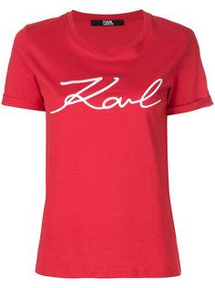 футболка Karl Signature Karl Lagerfeld