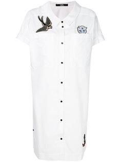 платье-рубашка с нашивками Captain Karl Karl Lagerfeld