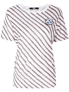 футболка Captain Karl Karl Lagerfeld