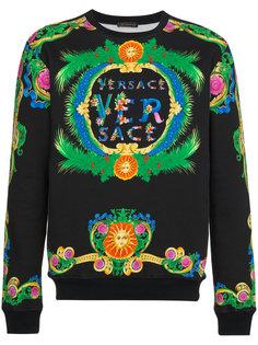 толстовка с принтом Beverly Palm Versace
