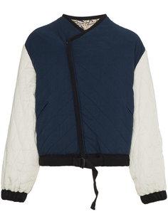 двухсторонняя стеганая куртка с цветочным принтом Isabel Marant Étoile