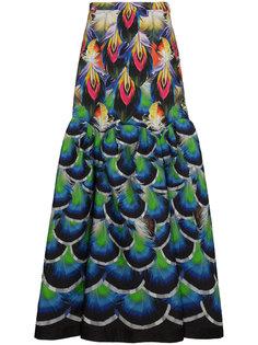 длинная юбка Parakeet Mary Katrantzou