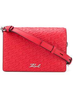 сумка на плечо Signature Allover Karl Lagerfeld