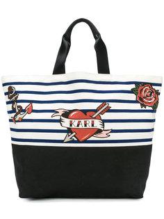 сумка-шоппер Captain Karl Karl Lagerfeld