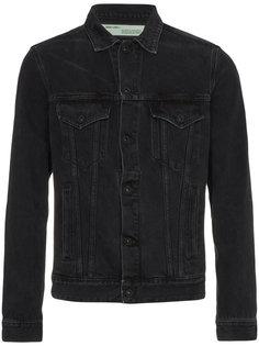 джинсовая куртка с отделкой Off-White