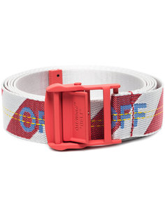 Red Industrial Belt Off-White