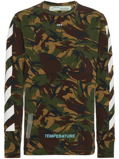 camouflage long sleeve t shirt Off-White