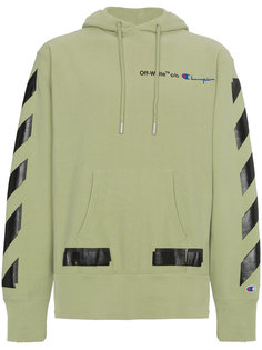 X Champion hoodie with logo Off-White