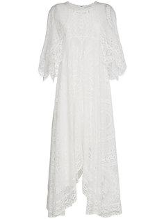 асимметричное длинное платье   Chloé