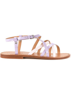 cross strap sandals Dsquared2