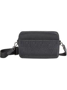 сумка на плечо с тиснением FF Fendi