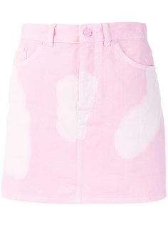 приталенная юбка с принтом тай-дай  Givenchy