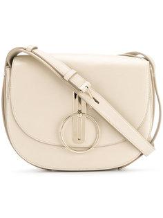 закругленная сумка на плечо с круглой пряжкой Nina Ricci