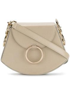 сумка на плечо с круглой пряжкой Nina Ricci