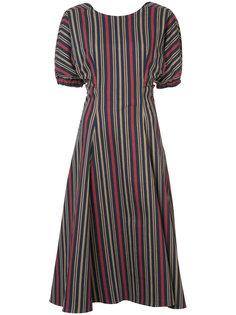 платье длины миди с вырезами на спине Tome