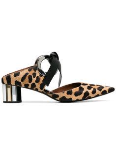 леопардовые туфли Proenza Schouler