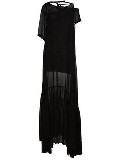 прозрачное платье-макси Ann Demeulemeester
